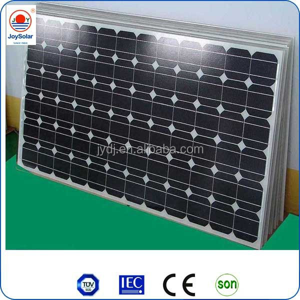 high efficency monocrystalline 310w solar panel with frame and Connector