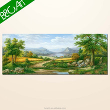Graceful landscape forest wall frame mural painting