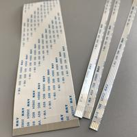 0.3mm,0.5mm ,0.8mm ,1.0mm,1.25mm FFC Pitch soldering flat flex ribbon cable