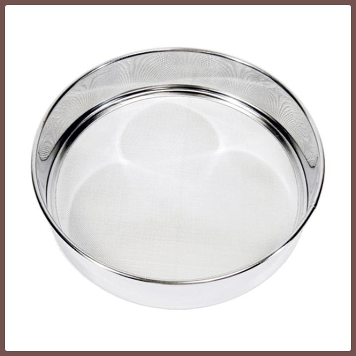 Stainless Steel Flour Wire Mesh Rim Sieve Buy Mesh Sieve