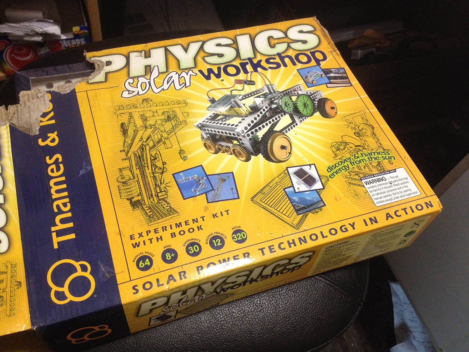 Game / Play Thames and Kosmos Physics Solar Workshop. Energy, Panels, Electricity, Machine, Toy, Learning Toy / Child / Kid