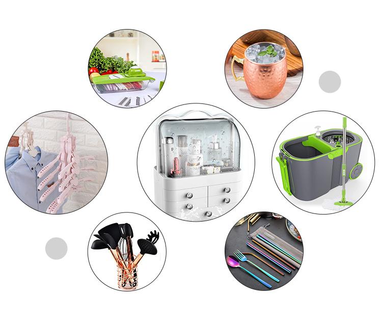 2018 Thời Trang Kính Thiên Văn 360 Rotating Nhựa Xô Lau Quay Ép Xe Đẩy