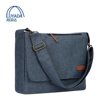 LYD Waterproof Business Messenger Bag for Men and Women Fits 17 15.6 inch Laptop Computer Tablet
