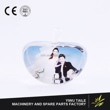 Most popular different types blank photo crystal gift manufacturer sale