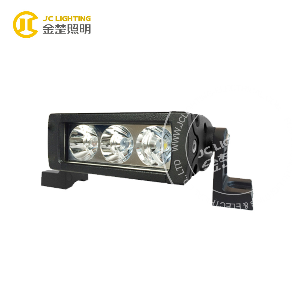 9w single row led light bar for mini farm tractor forklift depo auto