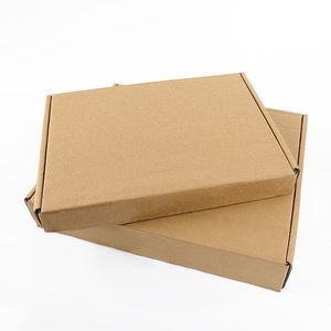 Custom waterproof 3 layer 5 layer moving shipping box recycled outdoor kraft corrugated paper mail box
