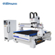 Mini cnc router 1000*2000mm Rubber carton box oscillating tangential knife cnc cutting machine