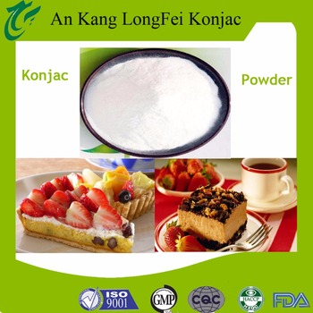 2017 High quality Konjac Powder Cake Additives with factory price