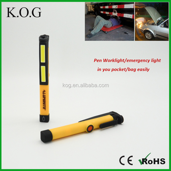 150 Lumen COB LED Pen Light with Magnetic Clip