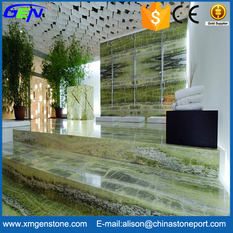 Grass Green Amazing Interior Decoration Iran Irish Green Marble