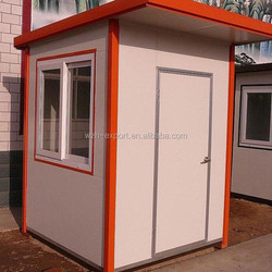 Factory supply Proof Prefabricated Security Guard House Cabin/mobile sentry box