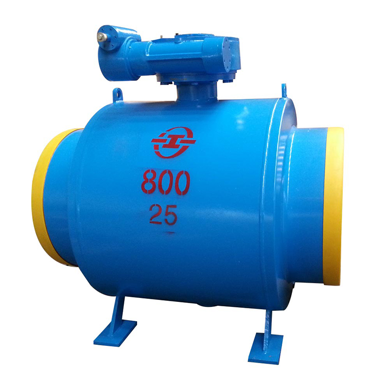ball valve stainless steel float design for hot water steam fully welded