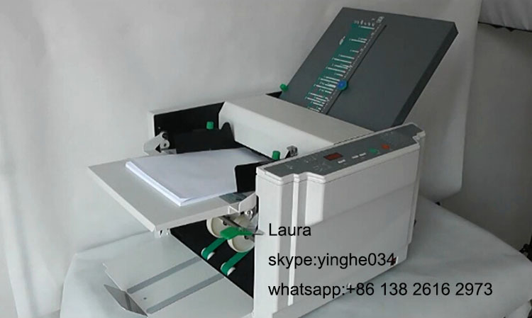 2015 China A4 A3 Manul Automatic Folding Machine Paper Feeder ...