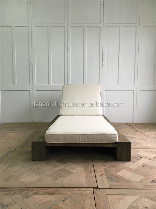 Antike Freien Waren Design Holz Single Sofa Bett Designs Sonnenliege