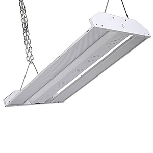 Alibaba best sellers ETL DLC warehouse industrial linear lights fixture 200w led high bay light