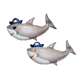 Flying shark helium balloon animal balloons