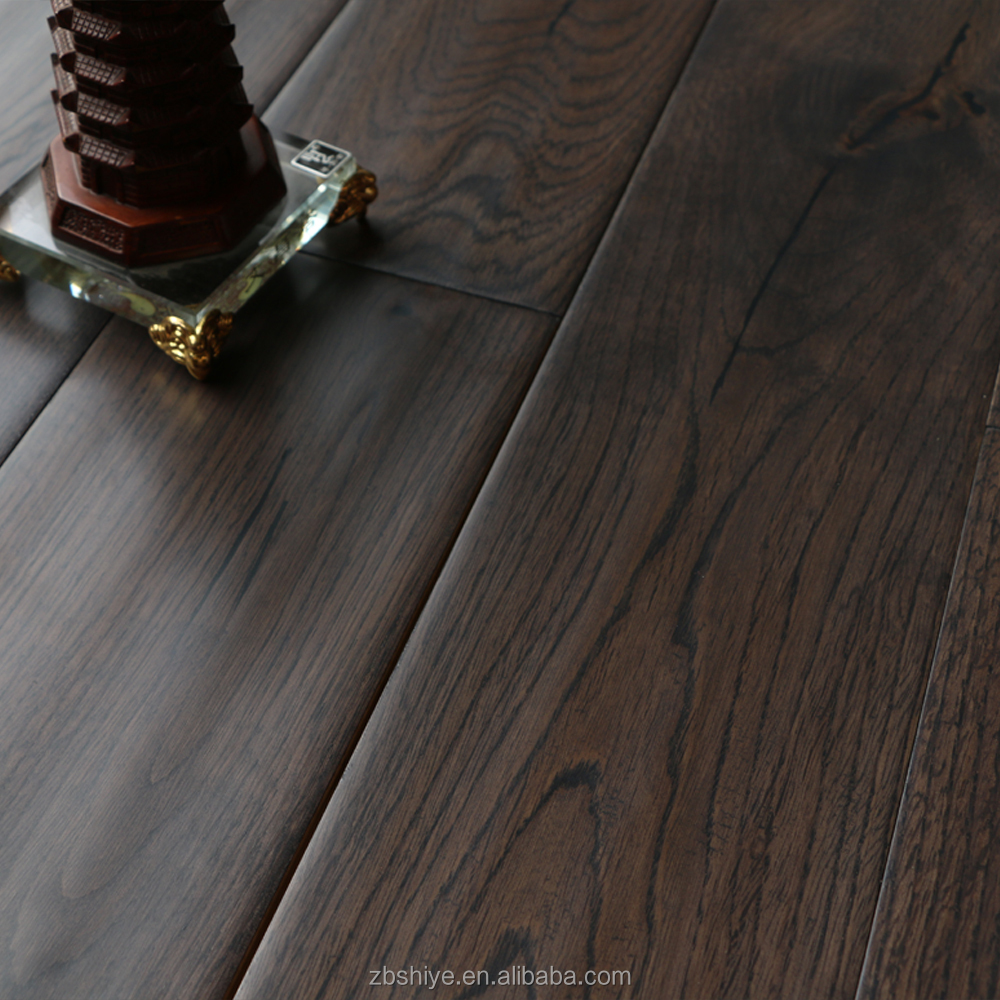 Prefinished cheap Solid hardwood flooring Acacia hardword floors natural  color Brownish red Hand scraped flooring - Prefinished Cheap Solid Hardwood Flooring Acacia Hardword Floors