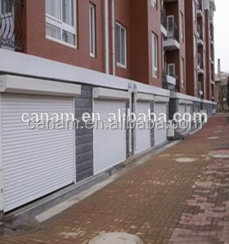 Commericial steel roller shutter security doors