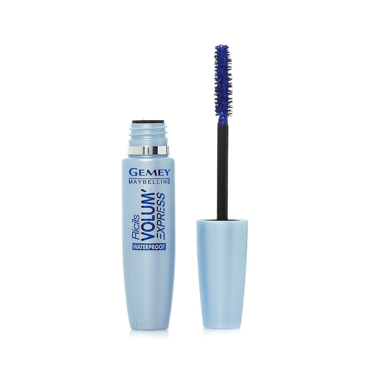 4eda08276e4 Get Quotations · Maybelline New York Volum' Express Classic Waterproof Blue  Mascara 8.5ml