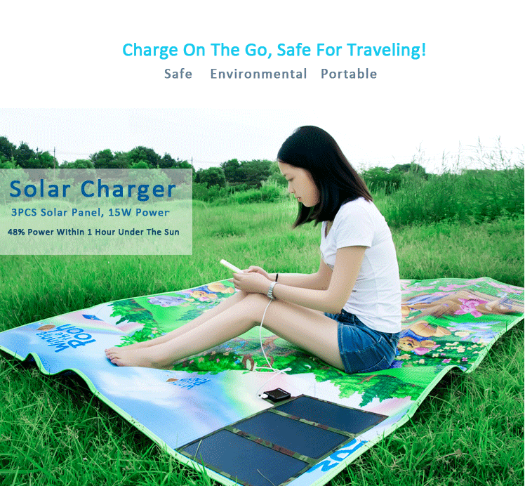2018 Best Selling Solar Mobile Travel charger 15W