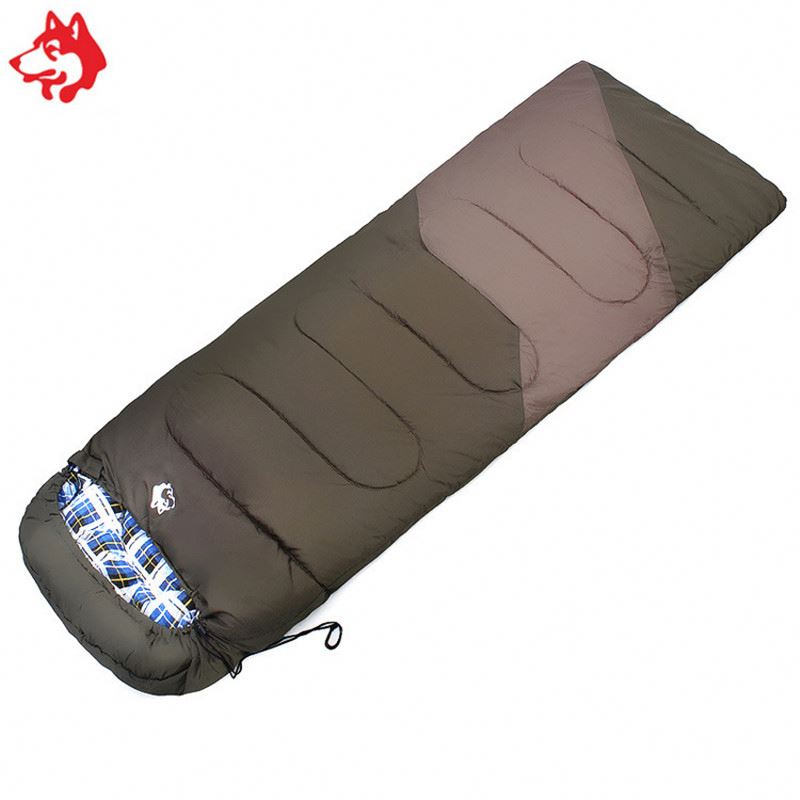 Sleeping Bag Camping Adult Single 190x70cm in Blue//Green//Red with Carry Bag