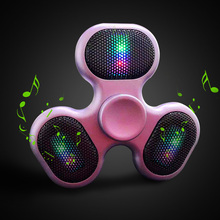 2018 Anti Stress Cool Fidget Spinner Wireless Mini Portable Speaker Hand Spinner Toy Walking Hand Toy