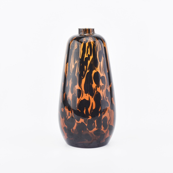 colorful overlay glass diffuser bottle