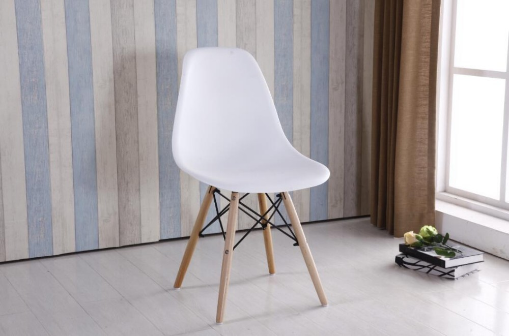plastic dining chair,office chair with wooden leges
