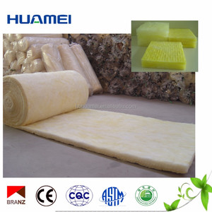 Heat Resistant Roofing Materials Sound Absorbing Insulation Glass Wool Blanket/panel