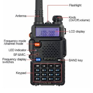 Baofeng uv5r scramble fuction VOX radio vhf uhf digital radio receiver