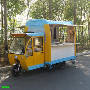 New design China fast food stand hot dog cart food truck cart for sale