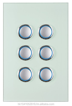 Clixmo Divine 6 Gang 2 Way Light Switch Australian Au Standard Saa