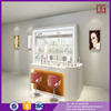 Modern Glass Acrylic Furnitures For Cosmetic Display Stand