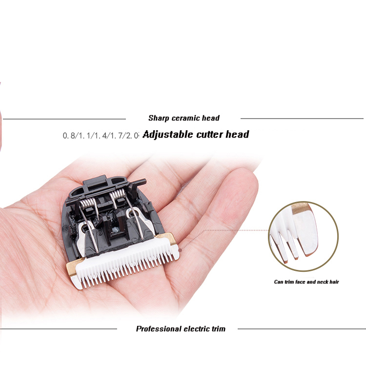Low noise ceramics Cutter head hair clipper