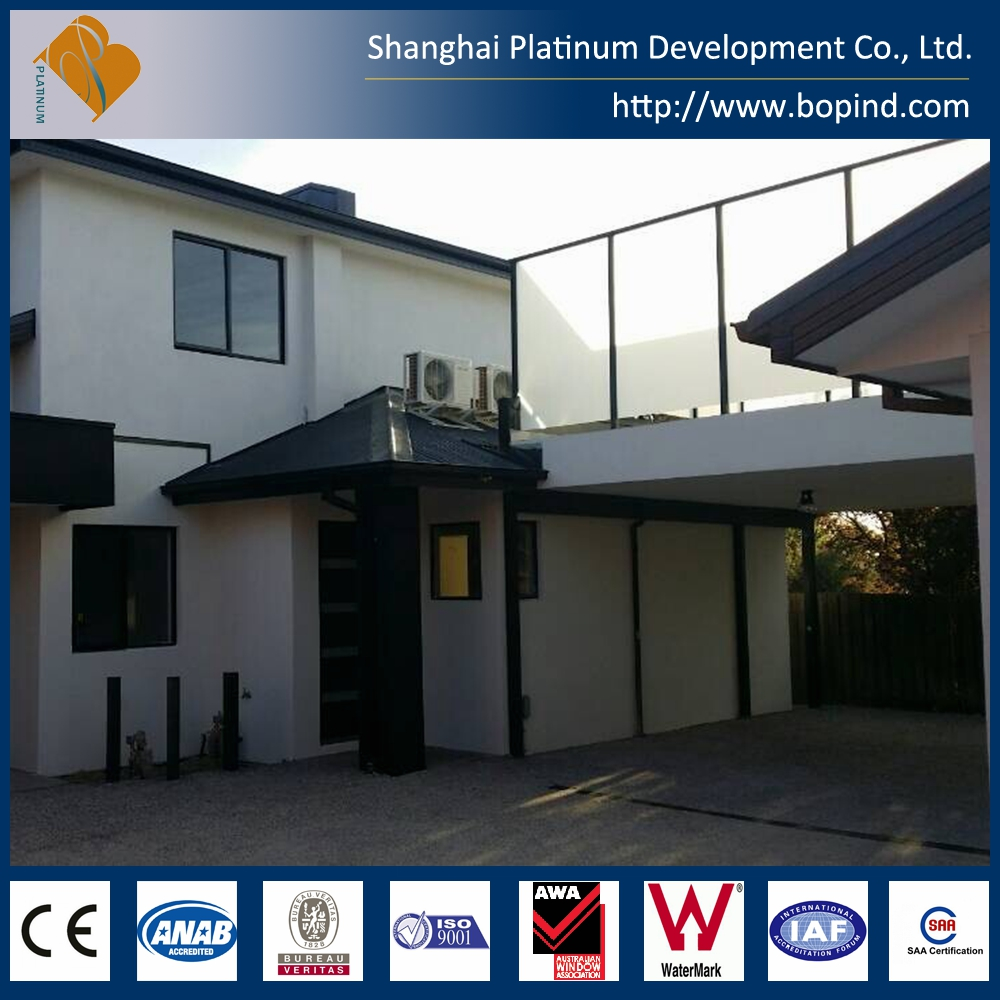 Luxury light steel structure real estate prefabricated villa house