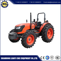 Factory supply 4x4 85HP 4WD reliable quality cheap farm tractor for sale