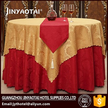 Manufacter Plain Dyed Yellow Tartan Plaid Plastic Tablecloth