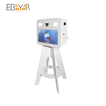 Best Small Business Wifi Vending Machine Made In China Ad Player Kiosk For Mall Portable Photo