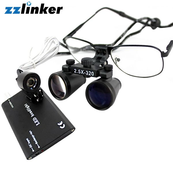 LK-T04 Dental Loupes Surgical Accessories with Headlight
