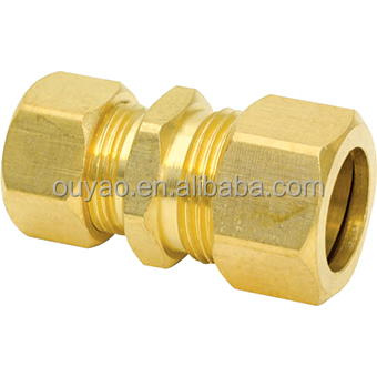 plastic to copper compression fitting