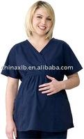Dickies Medical Uniforms Mock Wrap Maternity Scrub Top