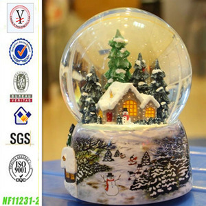 factory custom OEM/ODM wholesale snow globe with blowing snow