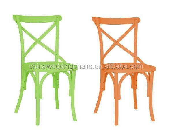 Resin Cross Back Chair, Tuscan Chair