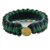 New Camping Cheap Tactical Gear 550 paracord Survival Bracelet with Golden Button Clip