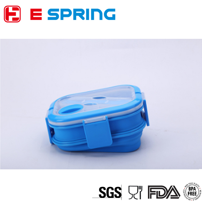 Hot Selling High Quality Food Packaging Silicone Lunch Jar Kids Snacks Container