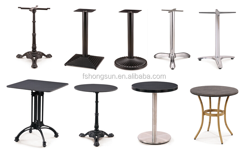 Cast iron aluminium tabe leg buy cast iron dining table for Cast iron furniture legs for sale