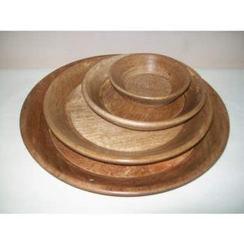 round wooden plates  sc 1 st  Alibaba : round wooden plates - pezcame.com