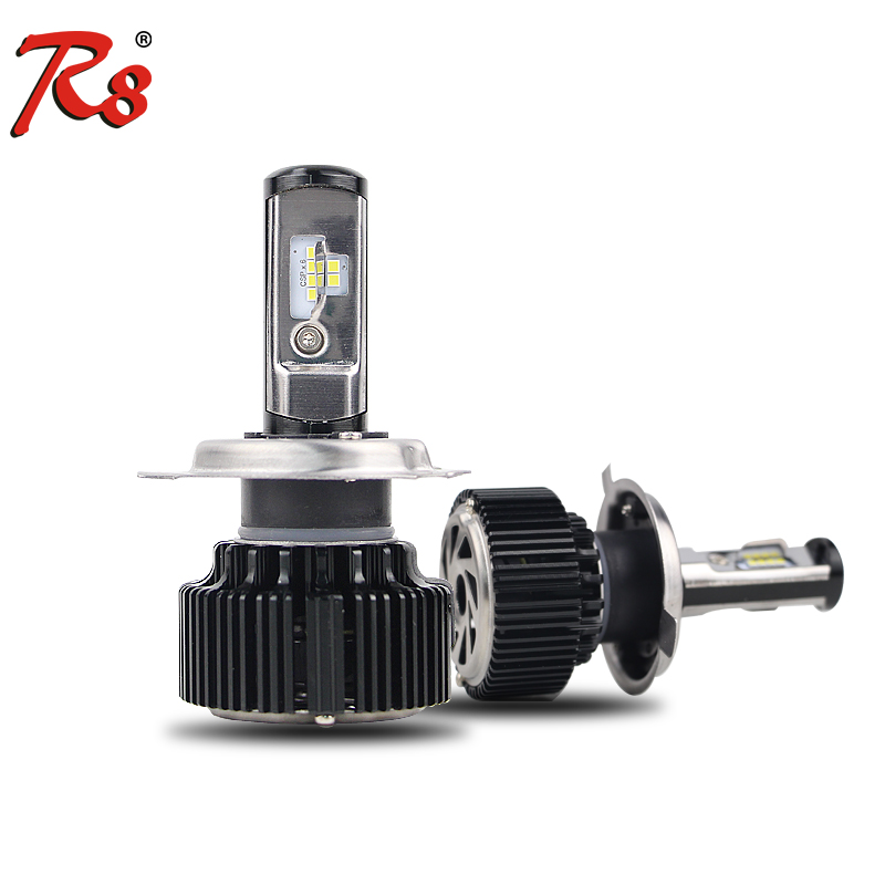 Best quality T6 LED Car Headlight H4/H13/9004/9007 Hi Low Beam CSP Chip 30W 4000LM Automobile Led Light Bulb