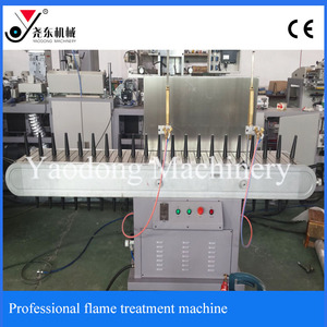 flame treatment machine for screen printing