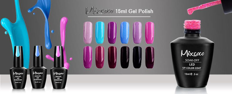 New 228 Colors Professional Nail Polish Uv Gel Soak Off Color Gel ...